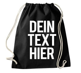 "TURNBEUTEL ""DEIN TEXT"""