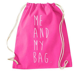 """TURNBEUTEL """"ME AND MY BAG"""""""