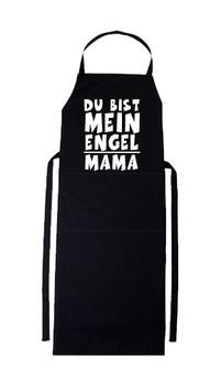 """Schürze """"Du bist mein Engel Mama"""""""