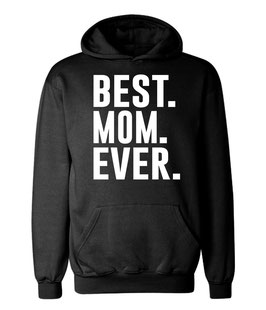 "Kapuzenpullover ""Best Mom"" für Damen"