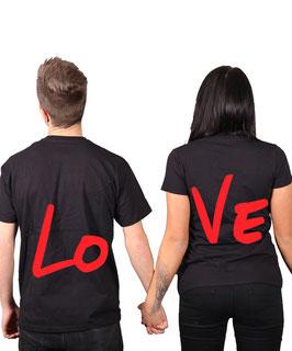 """2 x T-Shirt """"Lo-Ve"""""""