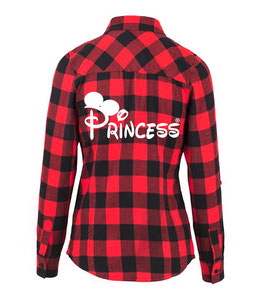 "HEMD CHECKED FLANELL ""PRINCESS"" oo"