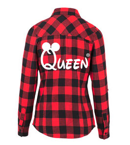 "HEMD CHECKED FLANELL ""QUEEN"" oo"