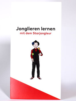 "Anleitungsbroschüre ""Jonglieren lernen mit dem Starjongleur"""