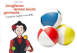 Jonglierset: Jonglieren lernen leicht gemacht mit drei Jonglierbällen