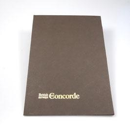 Original Schreibblock aus der Concorde!