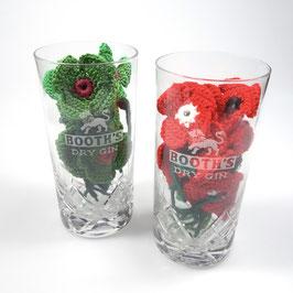 Original Booth's Gin Gläser! Extrem selten