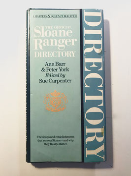 The official SLoane Ranger Directory