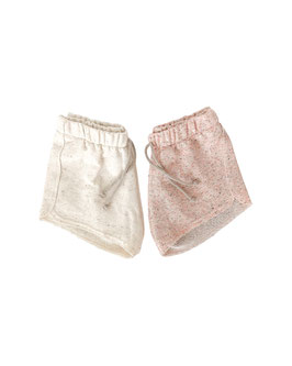 French Terry Shorts I allover Sprenkels I Cookie dough