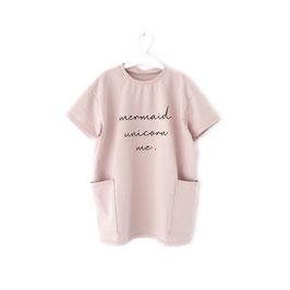 Oversized T-Shirt Dress Mermaid Unicorn Me.