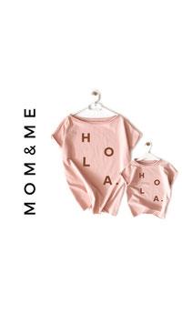 Mum & Me..... Bio Organic Mum Dolman T Shirt choose your color