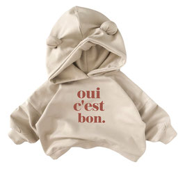 Oversized Cozy Bear Hoodie I Color kit I choose your statement