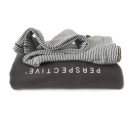 Leggings Minimal Stripes Black/Ecru