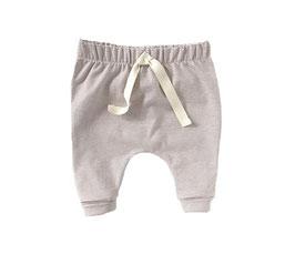 Jersey Cozy Pants I Oldrose with Ecru Stripes