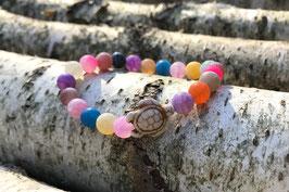 Schildkröte Armband - Achat (T48)