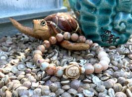Schildkröte Armband - Jade Jaspis (T43)