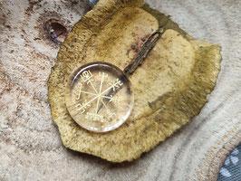 Kinderwunsch Handschmeichler Kompass - Bergkristall (SK19)