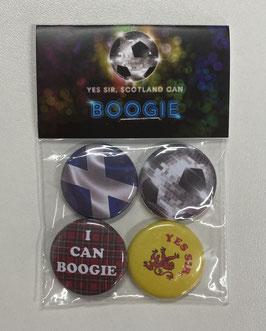 Scotland Football Badges