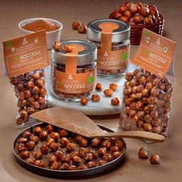 Haselnüsse geröstet und caramelisiert 120 g - Nocciola Piemonte IGP