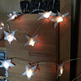 Guirlande lumineuse Etoiles des Neiges