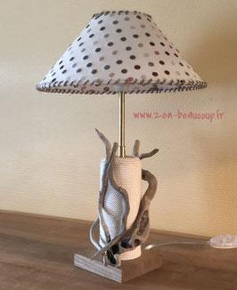 Lampes bois flotté Solenzara