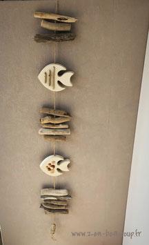 Guirlande suspension Poissons Exotiques