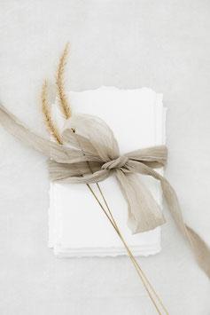 Crinkled Chiffonbänder