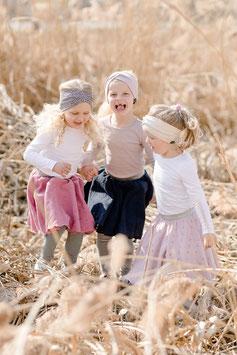 Sommerliche Musselinröcke für Kinder