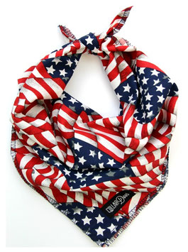4th of July Knotted Bandana
