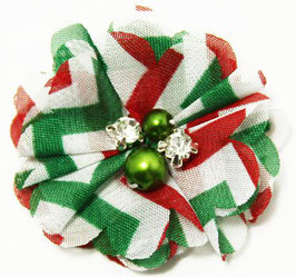 Barko Polo Red & Green Small Flower