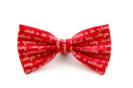 Love Letter Bow Tie