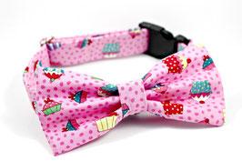 Pupcake Pawty Pink Collar Set