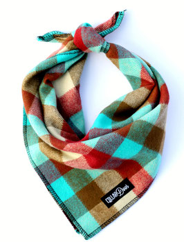 Lodge Plaid Traditional Knotted Bandana