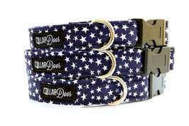 Pawtriotic Navy Collar