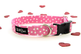 Mini Pink Collar + Bow Set