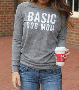 Basic Dog Mom Women's Pullover
