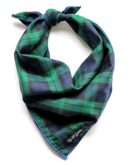 Gentleman's Plaid Traditional Knotted Bandana-WHOLESALE