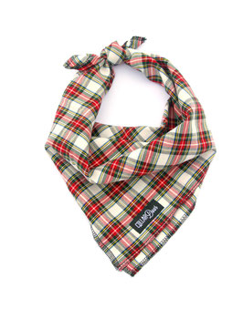 Country Plaid Traditional Knotted Bandana
