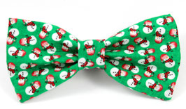 Frosty Paws Green Bow Tie