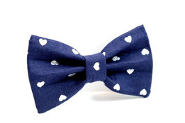 The Heartthrob Navy Bow Tie