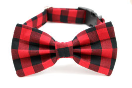 The Lumberjack Bow Tie, Collar & Leash