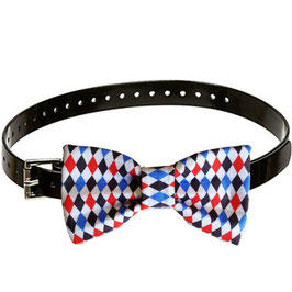 All American Boy Argyle Bow Tie