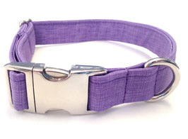 Purple Simply Fetching Silver Chrome Collar