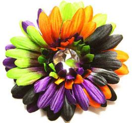 Howl O'ween Tie Dye with Purple Flower