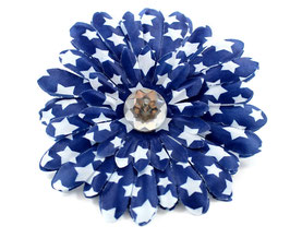 Pawtriotic Navy Large Flower