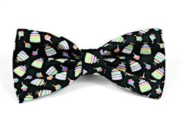 Pupcake Pawty Black Bow Tie
