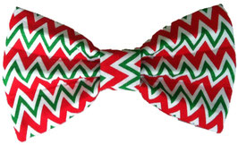 Barko Polo Red & Green Bow Tie