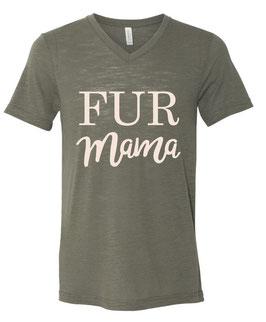 Fur Mama Olive Tee