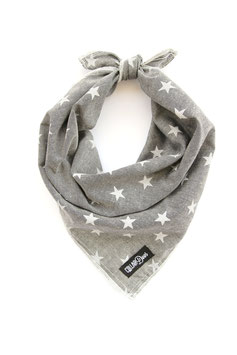 Freedom Chambray Grey Knotted Bandana