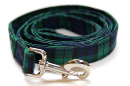Gentleman's Plaid Leash